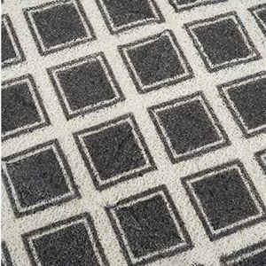 Geometric Kitchen Mat 2 x 3 PVC Vinyl Mat